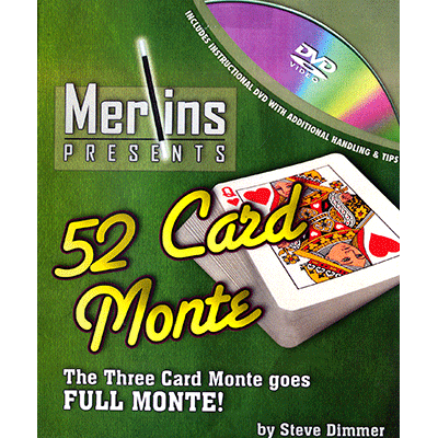 52 Card Monte by Merlins - Trick