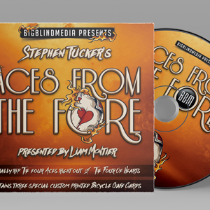 Stephen Tucker's Aces From The Fore (Gimmicks and DVD) - DVD