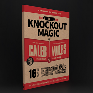 Main Event: The Knockout Magic of Caleb Wiles - DVD