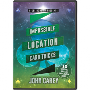 Impossible Location Card Tricks by John Carey - DVD