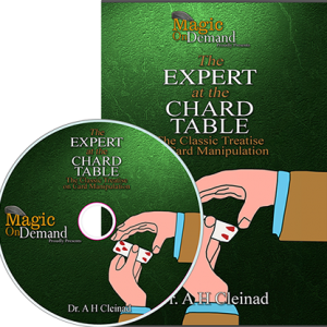 Magic On Demand & FlatCap Productions Proudly Present: Expert At The Chard Table by Daniel Chard - DVD