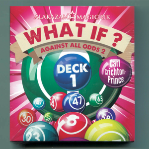 What If? (Deck 1  Gimmick and DVD) by Carl Crichton-Prince - DVD