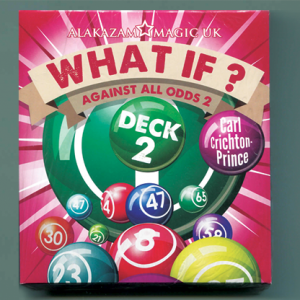 What If? (Deck 2  Gimmick and DVD) by Carl Crichton-Prince - DVD