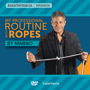 My Professional Routine with Ropes by Marko - DVD