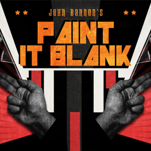 John Bannon's PAINT IT BLANK (Gimmicks and DVD) - DVD