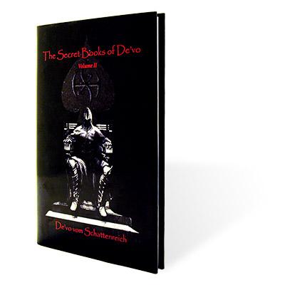 DE'VO'S SECRET BOOKS VOL. 2  by De'vo vom Schattenreich - Book