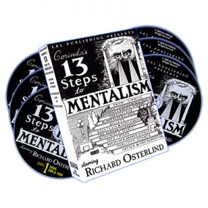 13 Steps To Mentalism (6 DVDs) by Richard Osterlind - DVD