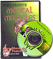 Mental Miracles Bob Cassidy, DVD