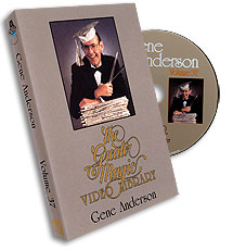 Greater Magic Video Library Volume 37 Gene Anderson - DVD