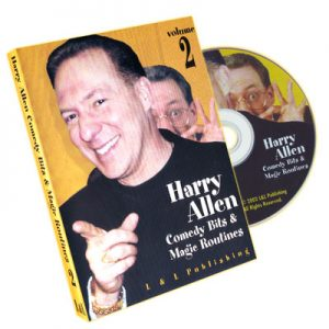 Harry Allen's Comedy Bits and Magic Routines Volume 2 - DVD