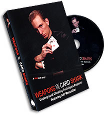 Weapons of the Card Shark Vol. 1 by Jeff Wessmiller - DVD