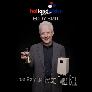 Holland Tricks Presents The Eddy Smit Magic Table Bell Limited Edition (Gimmick and Online Instructions) - Trick