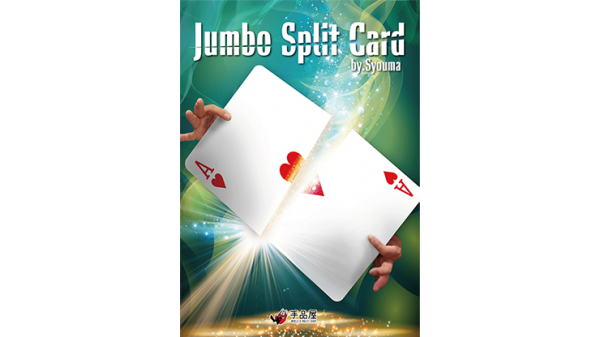 JUMBO Split Card by Syouma - Trick