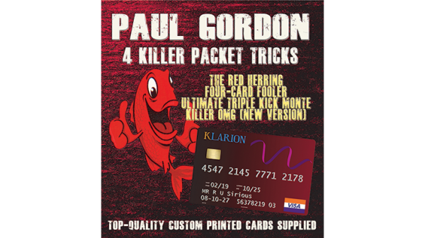 Paul Gordon's 4 Killer Packet Tricks Vol. 1 - Trick