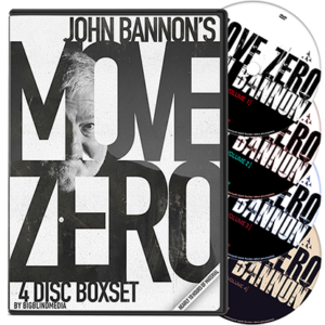 Move Zero (4 Volume Set) by John Bannon and Big Blind Media - DVD